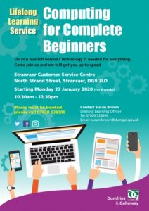 Computing for Complete Beginners - Stranraer