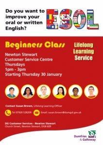 ESOL - Do you want to improve your oral or written English?