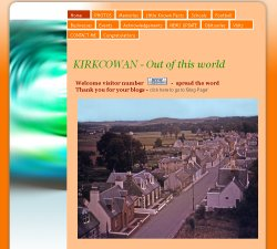 local history website for Kirkcowan, Wigtownshire
