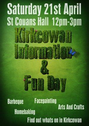 Kirkcowan Information & Fun Day - 21st April 2012
