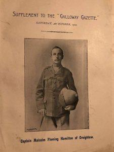 Captain Malcolm Fleming Hamilton of Craighlaw - 1902