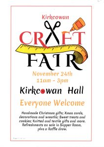 Craft Fair November 24th