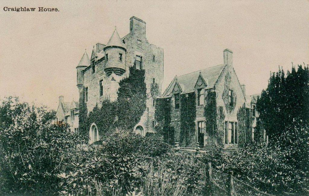 Craighlaw House, Kirkcowan - 1903