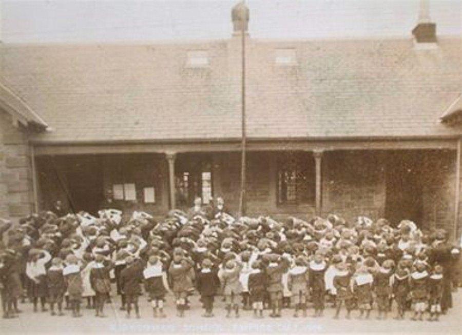 Kirkcowan School - Empire Day