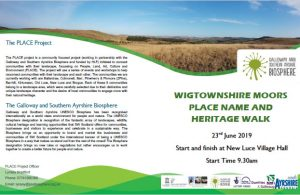 Wigtownshire Moors Place Name & Heritage Walk