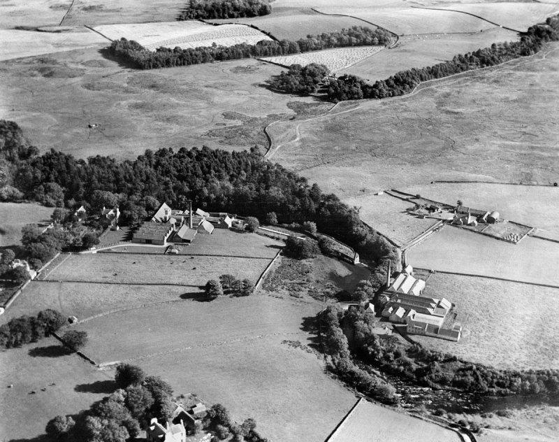 Aerial View of the Mills around 1930