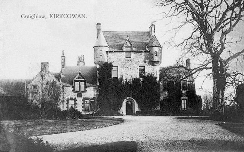 Craighlaw House, Kirkcowan - 1900