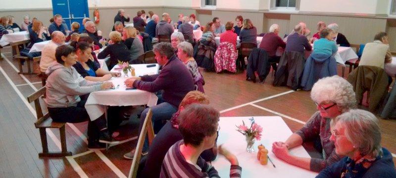 Allotment Club Quiz Night in Kirkcowan Hall